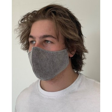 Mens Grey Mask