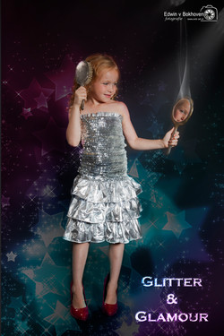 Kinderfeestje Glamour Photo shoot