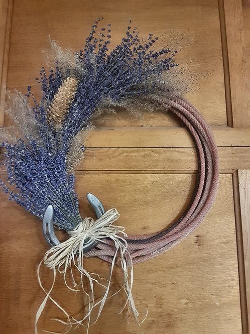 Wreath with Horseshoe