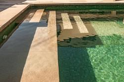Construcción piscinas verdes Mallorca