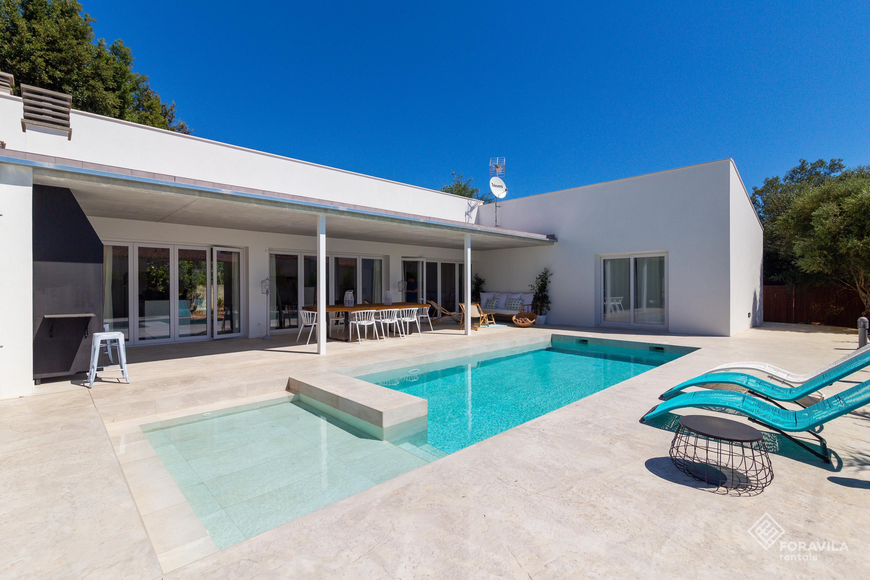 Construcción piscina moderna Mallorca