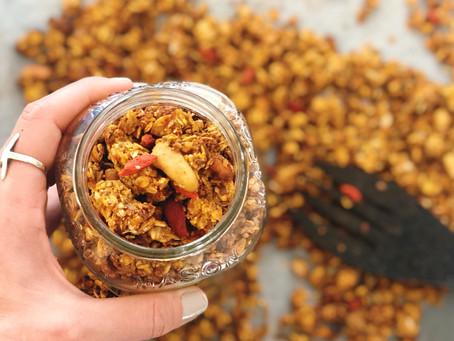 Granola Caseira - Receita Básica