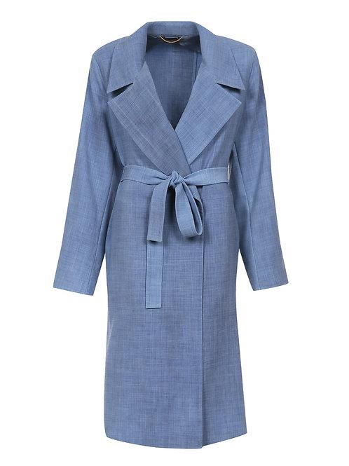 Пальто демисезонное из шерсти