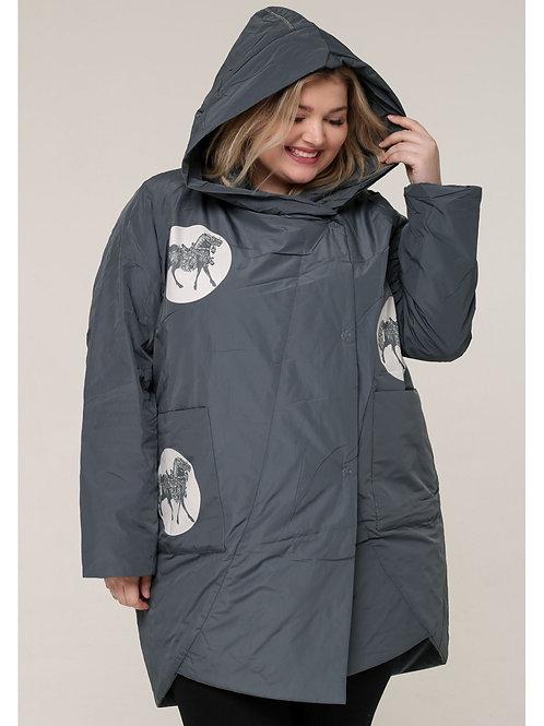 весенне-осенняя куртка большого размера