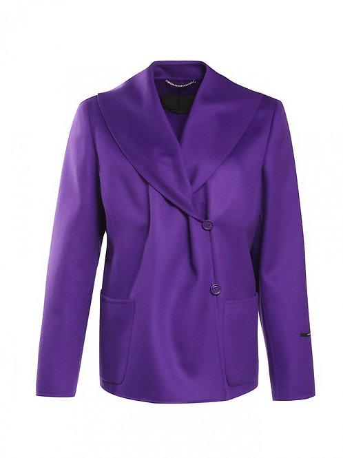 Пальто укороченное из шерсти
