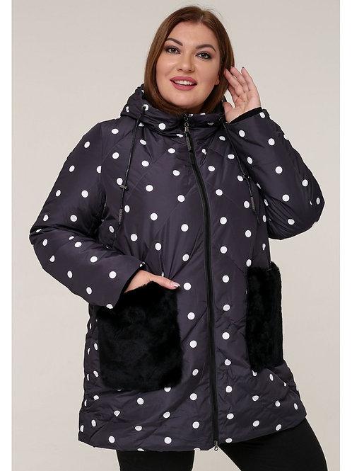 женская зимняя куртка большого размера