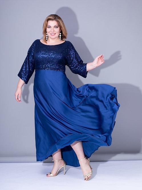 платье с пайетками большого размера