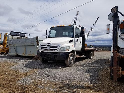 Hino Flatbed dump truck
