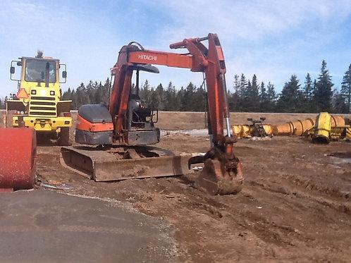 (Excavator) Hitachi EX 55