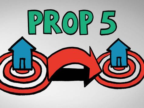 Prop 5 -- The Breakdown