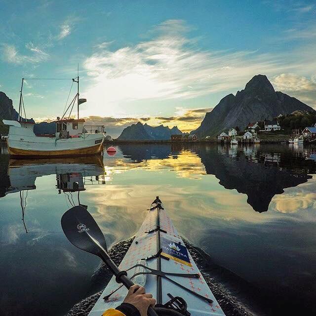 Bilde fra Hatvika Lodge i Nord Norge. (Hentet fra dems facebookside)
