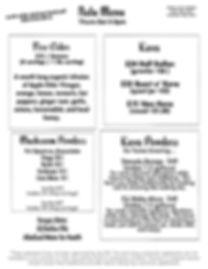 kava, tea, mushroom, firecider menu for immunity in Portland Oregon, PDX
