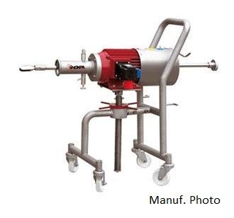 Inoxpa Tank Mixer + Stand