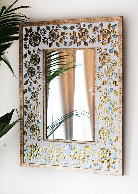 Gulaab Guldasta Wall Mirror