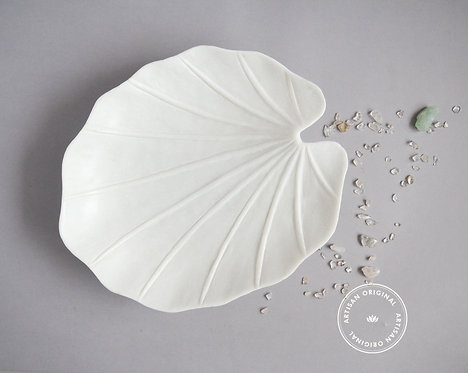 Lotus Leaf Platter