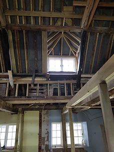 Haven Cottage stripped out