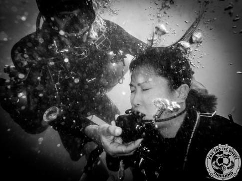 Independent diver
