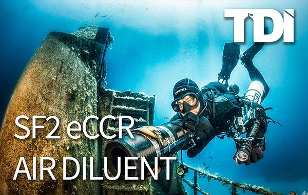 CCR Diving Course | SF2 eCCR Air Diluent Course | Koh Tao Thailand
