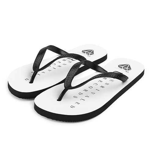 Unrivaled Records Flip-Flops