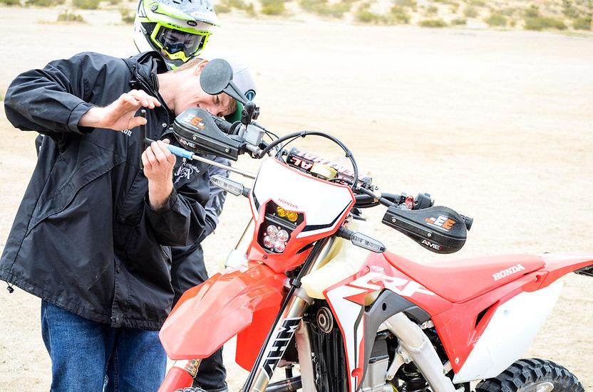 MOTO CLINICS AND RACE TESTING