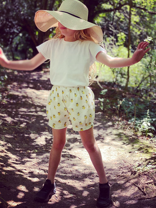 Girls Bee Bloomer Shorts