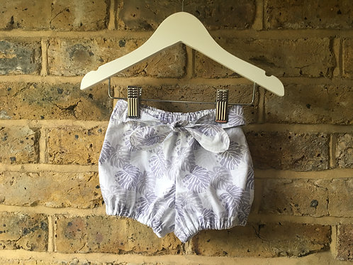 Tropical Bloomers with Bow
