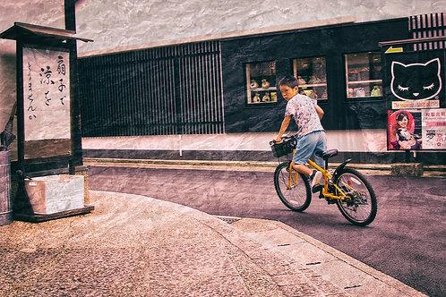 Kyoto Bike Kid
