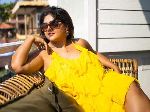 Shining in Yellow #OOTD