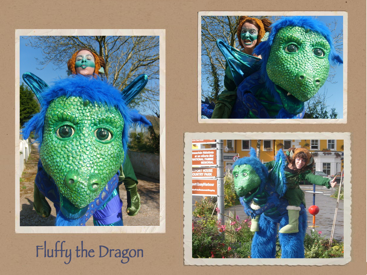 Fluffy the Dragon
