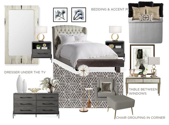 Contemporary Bedroom in Friendswood