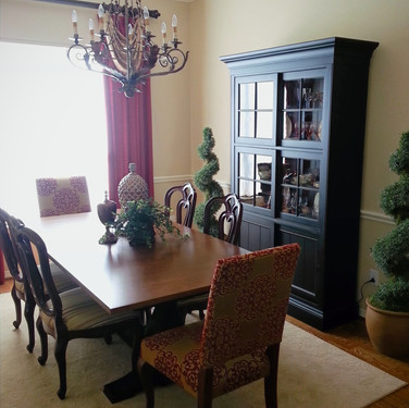 Traditional Dining Room - After