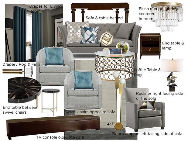 Meier Living Room - Mood Board - No. 1 (