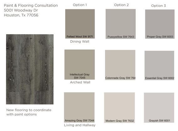 Paint & Flooring Consultation at The Woodway