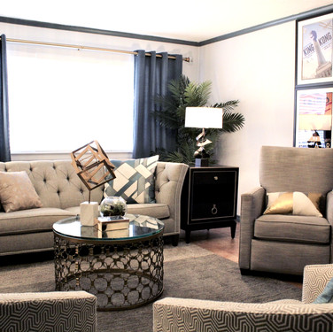 Art Deco Living Room - After