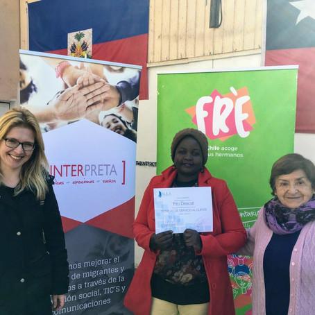Impartimos taller de capacitación para migrantes haitianos