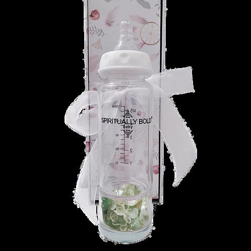 Spiritually Bold Baby Intention Baby Bottle- Heaven's Rain