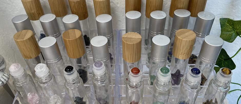 Crystal Infused Roller Bottles