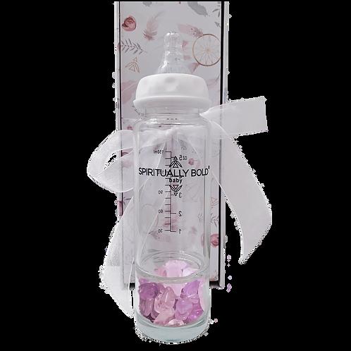 Spiritually Bold Baby Intention Baby Bottle-Peek-A-Boo