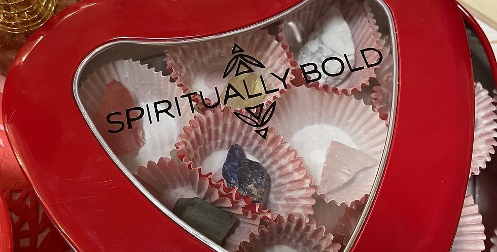 Crystal Valentine's Day Box - Large