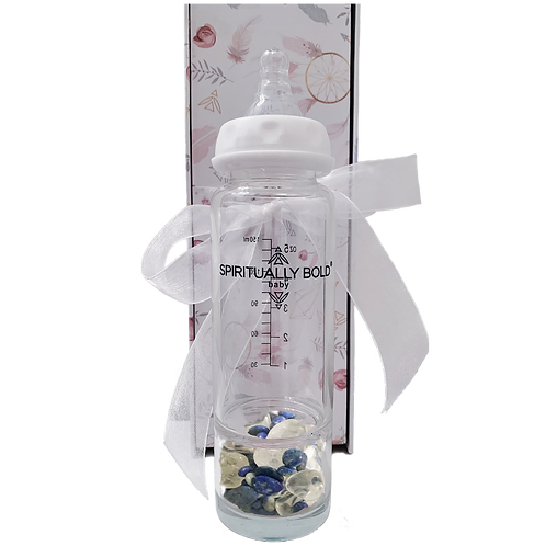Spiritually Bold Baby Intention Baby Bottle-Sweet Dreams Baby
