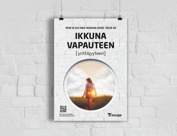Suomen Yrittäjien kampanjan toteutus