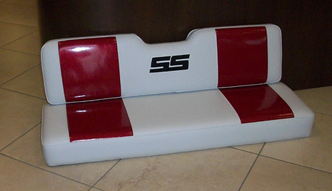 golf cart upholstery