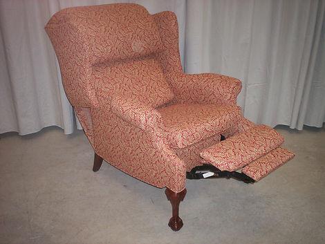 recliner upholstery