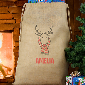 Personalised Christmas Sacks & Stockings