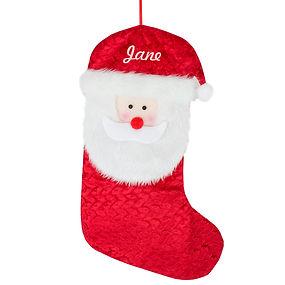 Santa Head Stocking