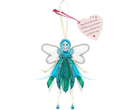 Glitter Quote Fairy - Good Friends