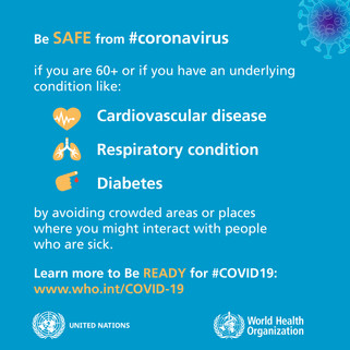 Be Ready for coronavirus