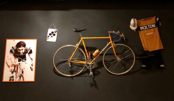 ściana poświęcona mistrzowi wszechczasów - for you Eddie Merckx