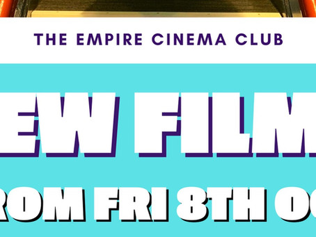 New Films showing from Friday 8th October 2021