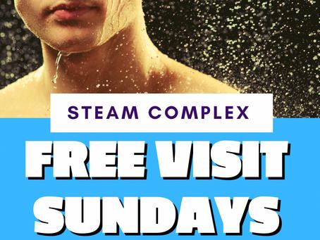 Steam Complex Free Visit Sundays